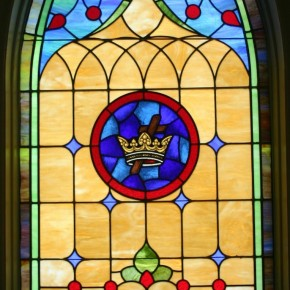 The Shine of the Stained Glass