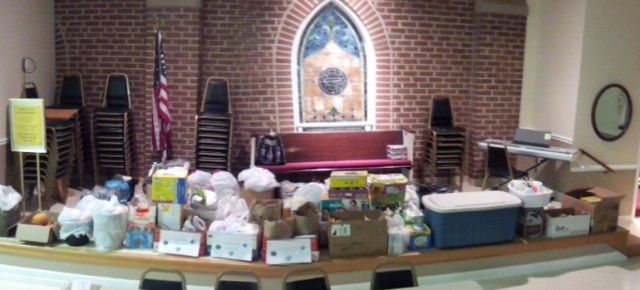 HURRICANE SANDY RELIEF EFFORTS