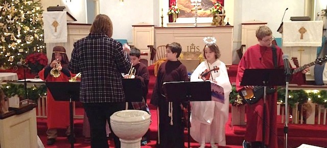 The Children's Christmas Program Continues the Joy of Christmas