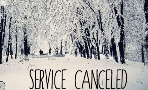 Tonight's Service is Cancelled - March 14